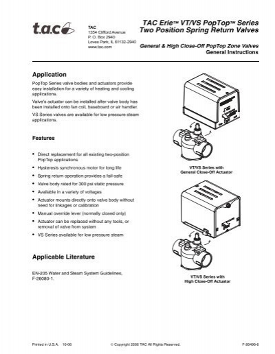 erie thermostat manual