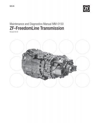 Zf Meritor Transmission Wiring Diagram | Repair Manual