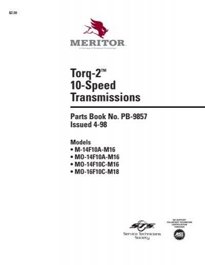 Torq-2 10-Speed Transmissions - edoqs