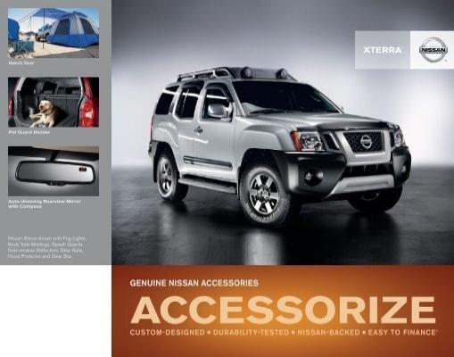 Nissan Xterra Pet Accessories