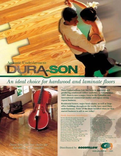 An Ideal Choice For Hardwood And Laminate Floors Goodfellow Inc
