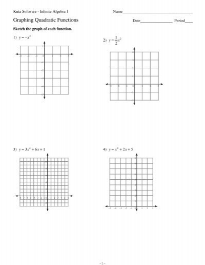 Graphing lines worksheet pdf