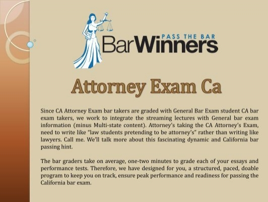 ca bar exam essays graded