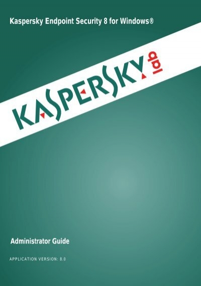 How to remove incompatible software when installing kaspersky.