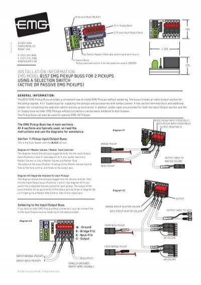 emg hz wiring diagram collection emg wiring sa pictures wire ... B Emg Hz Pickups Wiring Diagram on