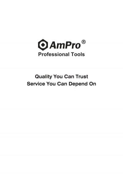 AMPRO T334205 3//8-Inch Drive by 7//16-Inch 6 Point Socket