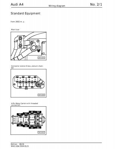 audi a4 no  2  1 wiring diagram