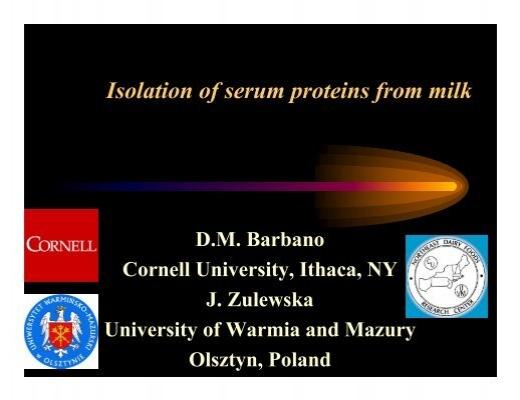 isolation of casein