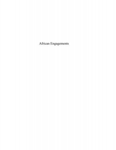 African Engagements