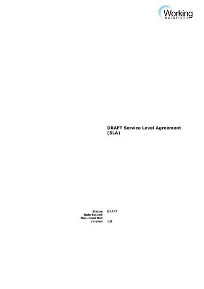 Draft Agreement Paper for Manpower Service Providing Agency – Service Agreement Draft