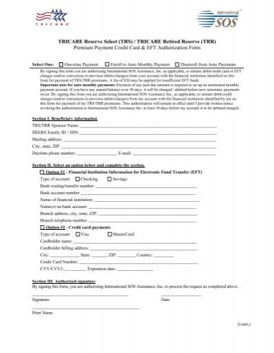 Tricare Dd Form 2527