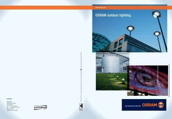 sc 1 st  Yumpu & OSRAM outdoor lighting.