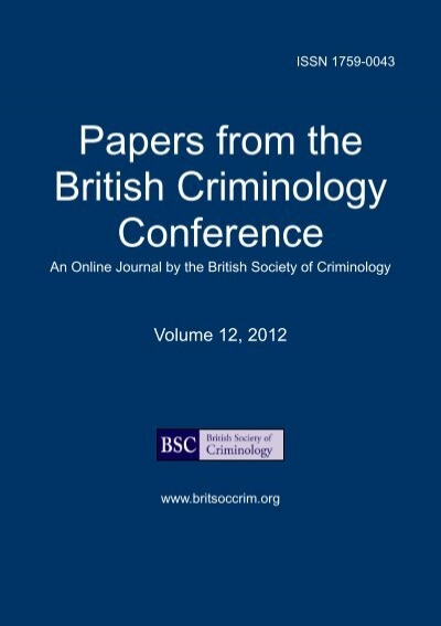 Custom term paper for criminology