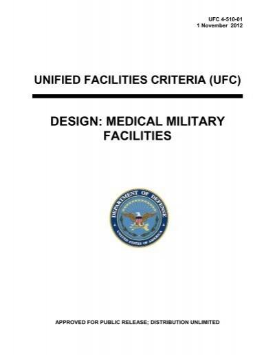 UFC 4-510-01 Design - The Whole Building Design Guide