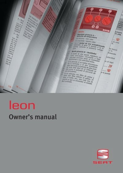 leon 1m manual index of rh yumpu com Seat Leon 2002 Seat Leon 2005