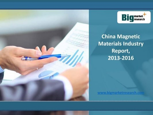 china magnetic materials industry report 2013 2016