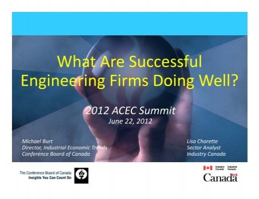 What Are Successful Engineering Firms Doing Well? - Canada