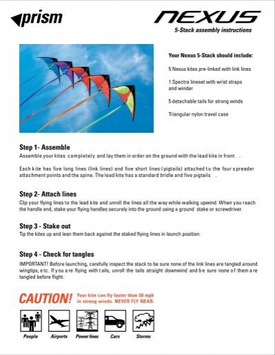 Nexus 5 Stack Prism Kite Technology