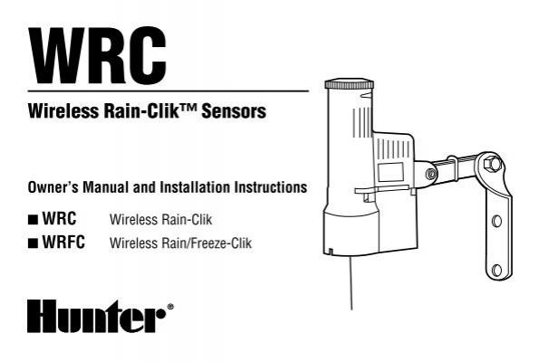 Wirelessrain Clikcomponen