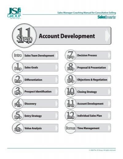 Step 11 Account Development Plan Template Scansource