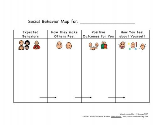 Social Behaviour Mapping Template