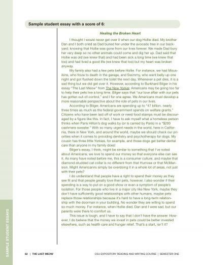 Best essay topics for college