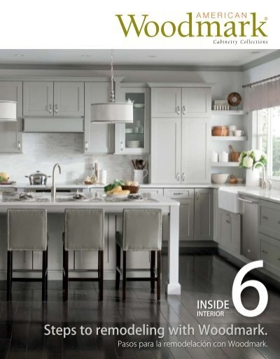 American woodmark - Kitchen cabinets design catalog pdf ...