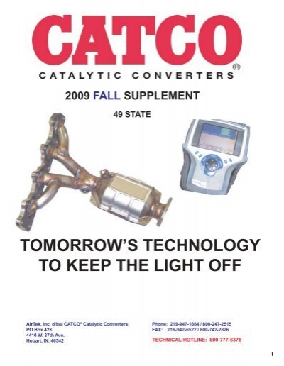 D//S Eng Pipe and Catalytic Converter For 04-05 Legacy Outback 2.5L Cal Emiission