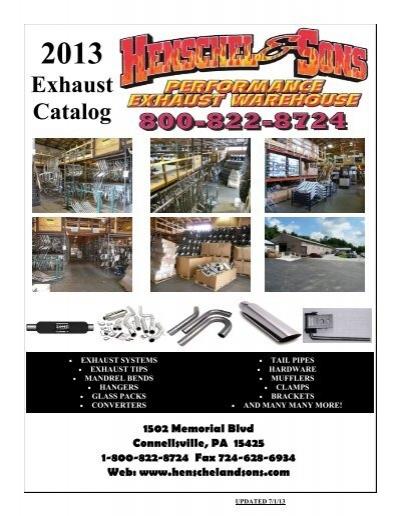 AP Exhaust X3001 Mandrel Bent Exhaust Pipe