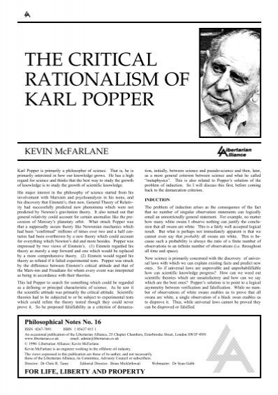 an examination of the extent of karl poppers attack on plato and its justification The impact assessment board: an efficient keeper but too weak by according to plato karl popper: his philosophy of.