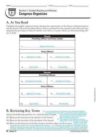 name class date section 5 rh yumpu com Performance Review Answers Performance Review Answers