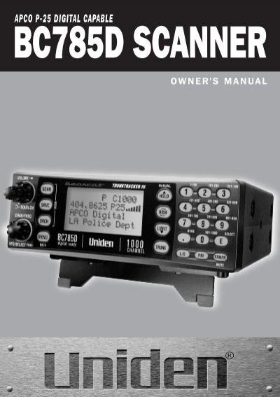 manual at uniden rh yumpu com Uniden Bearcat BCT15 Uniden Scanners