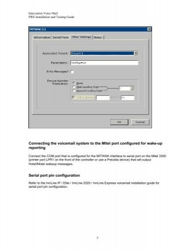 innovation voice mail rh yumpu com Mitel MiVoice Office 250 Mitel Phone