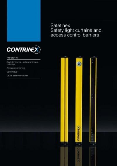 Banner MINI-SCREEN Machine Safety Light Curtain