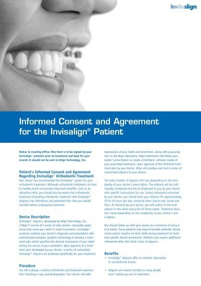 The AAA Patient Consent Form