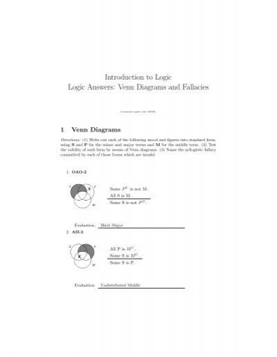 Introduction To Logic Logic Answers Philosophy Lander