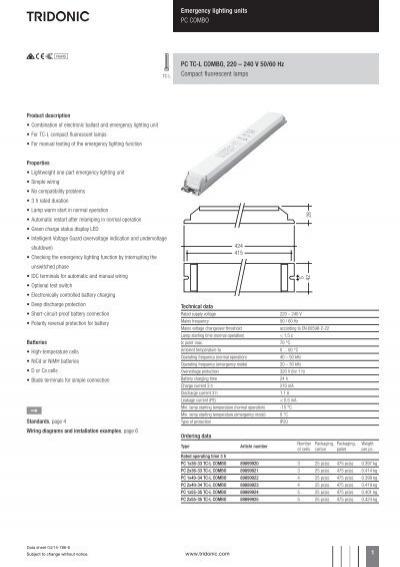 38695680 emergency lighting units pc combo pc tc l combo tridonic tridonic emergency ballast wiring diagram at suagrazia.org