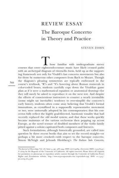 the baroque time essay Example of baroque music essay at essaypediacom written and custom papers on any topic.