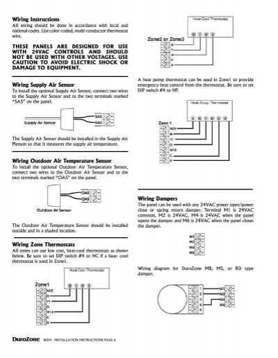 red 4 wiring instructions duro dyne