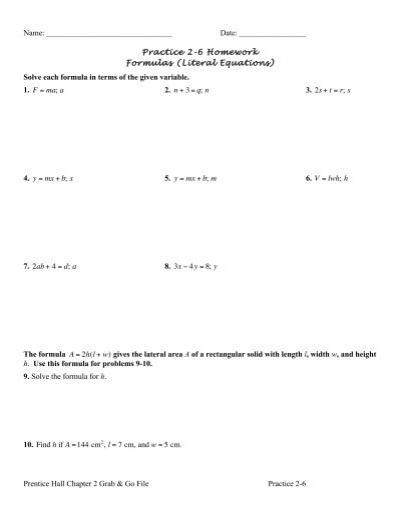Practice 2 6 Homework