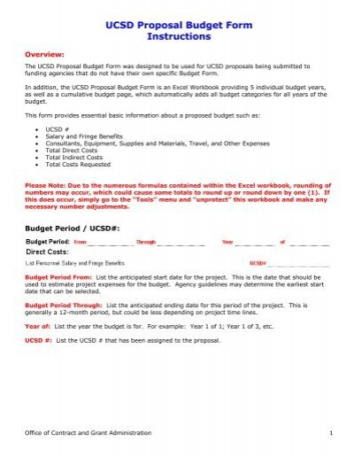 ucsd proposal budget form instructions blink