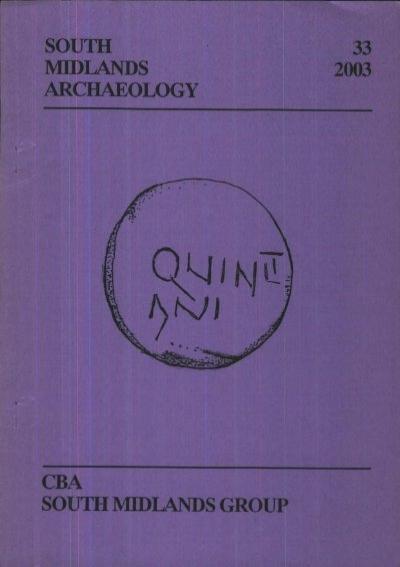Cba Sma Sma 2003 Pdf Council For British Archaeology