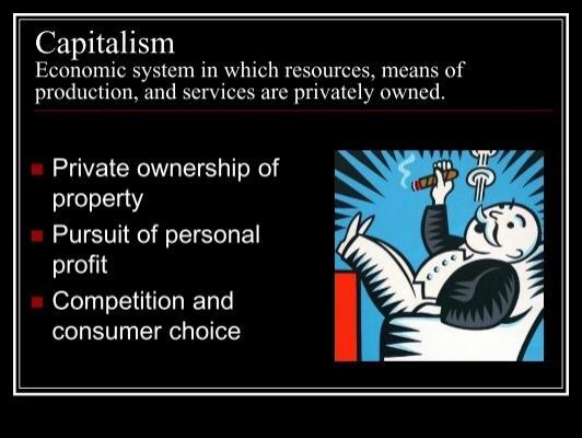 capitalistic economy