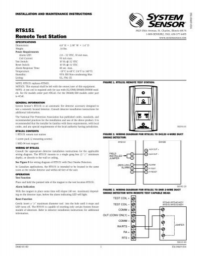 38891529 glamorous system sensor rts151 wiring diagram pictures wiring  at n-0.co