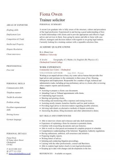 Architect resume template cv example job description dayjob trainee solicitor cv template dayjob pronofoot35fo Gallery