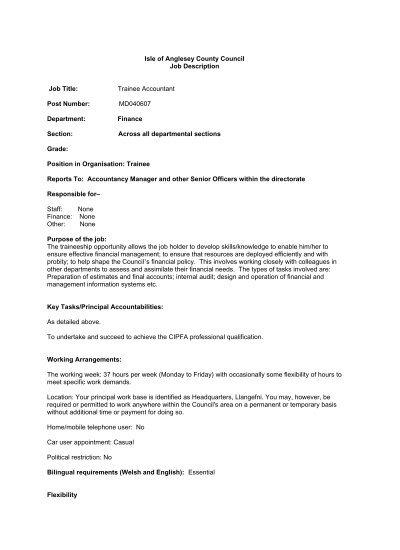 financial accountant job description pdf