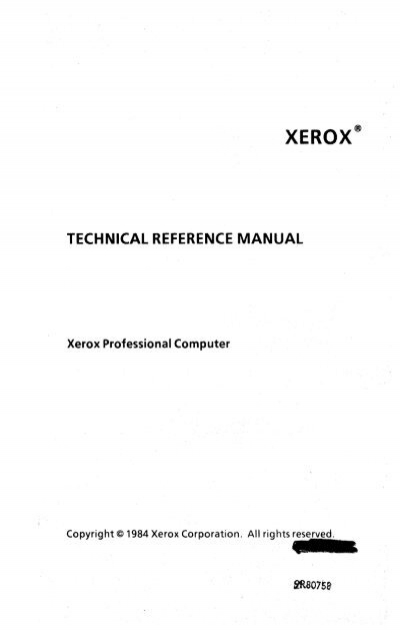 TECHNICAL REFERENCE MANUAL - FTP