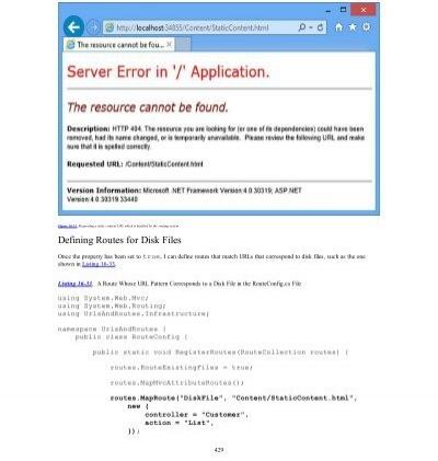 application requests routing en francais
