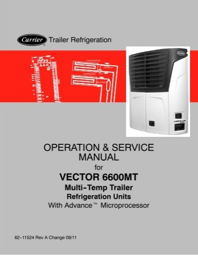vector 6600mt multi temp advance micro sunbelt transport rh yumpu com 1800 Courier Jobs Circular Polarization Vector