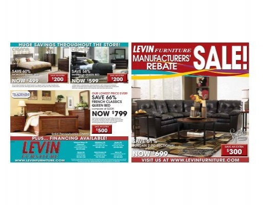 Rebate Levin Furniture, Levin Furniture Oakwood Village Oh